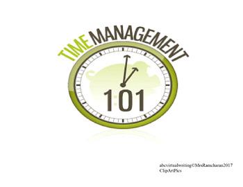 Time Management Worksheet #2