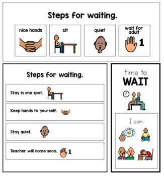 Time Management and Waiting Visuals