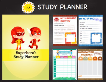 Time Management for Kids (Superhero Theme)