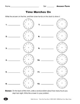 Time Marches On (Elapsed Time)