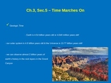 Time Marches On - Geologic Time Scale