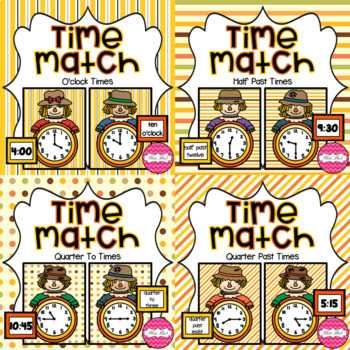 Time Match- Autumn Theme BUNDLE