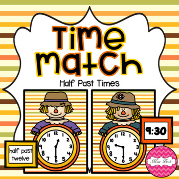 Time Match- Half Past Autumn Theme