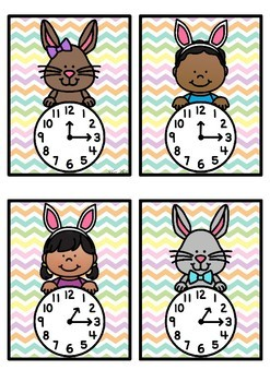 Time Match- Quarter Past Easter Theme
