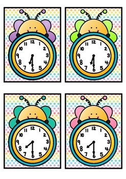 Time Match- Half Past Spring Theme