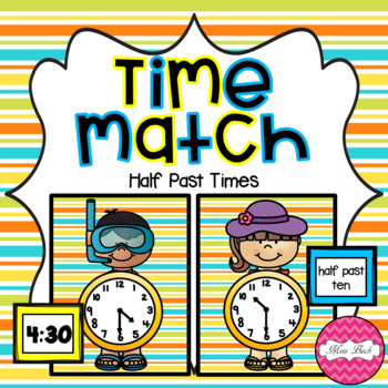 Time Match- Half Past Summer Theme