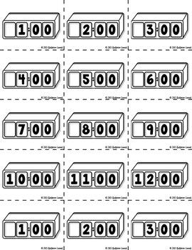 Time Match {Hour, Half Hour, Quarter Hour, & Five Minutes!}