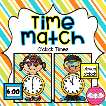 Time Match- O'clock Summer Theme