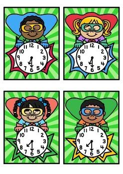 Time Match- Half Past Superhero Theme