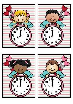 Time Match- O'clock Valentine Theme
