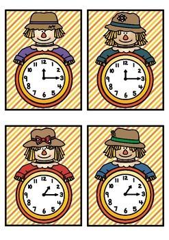 Time Match- Quarter Past Autumn Theme