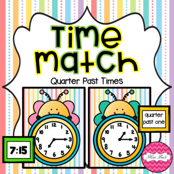 Time Match- Quarter Past Spring Theme