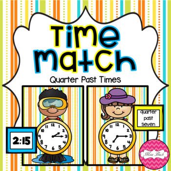 Time Match- Quarter Past Summer Theme