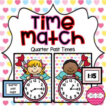 Time Match- Quarter Past Valentine Theme