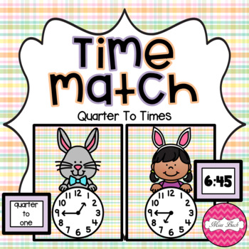 Time Match- Quarter To Easter Theme