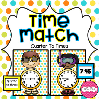 Time Match- Quarter To Summer Theme