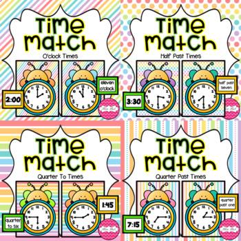 Time Match- Spring Theme BUNDLE