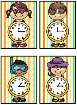 Time Match- Summer Theme BUNDLE