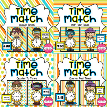 Time Match- Summer Theme BUNDLE
