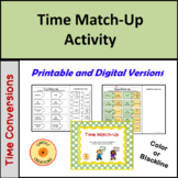 Time Match-Up: A Hands-On Converting Time Activity