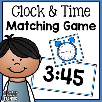 Time Matching Card Game