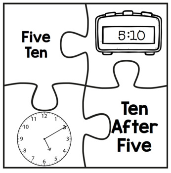 Time Matching Puzzles