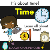 Time - Math Activity Pack