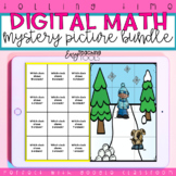 Time Math Centers Mystery Pictures for Distance Learning