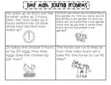 Time Math Journal Problems