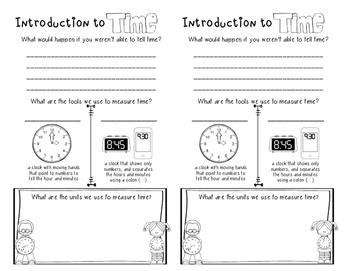 Time Math Notebook