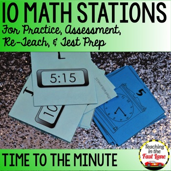 Time Math Stations