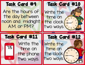Task Cards: Time