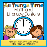 Time Math and Literacy Centers