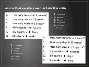 Time Measurement