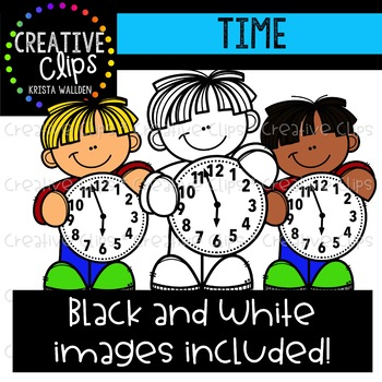 Time: Measurement Clipart {Creative Clips Clipart}