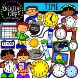 Time: Measurement Clipart {Creative Clips Clipart}