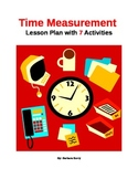 Time Measurement Lesson with 7 Activities
