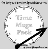 Time Mega Pack for Early Childhood or Special Education