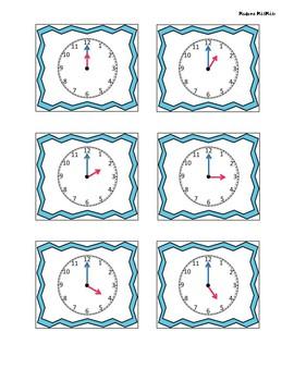 Time Memory Game / Jeu de mémoire avec l'heure