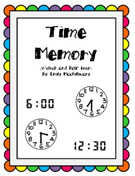 Time Memory to the Hour and the Half Hour