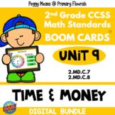 UNIT 9 Time & Money 2.MD.C7, 2.MD.C.8 | 2nd Grade Math | BUNDLE