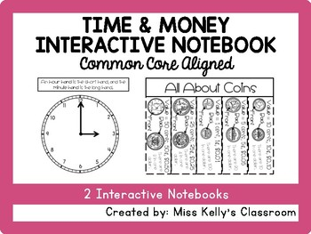 Time & Money Interactive Notebook