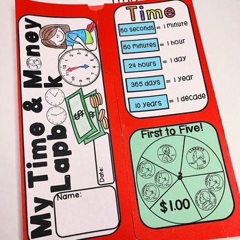 Time & Money Lapbook Interactive Kit