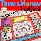 Time & Money Lapbook | Telling Time | Counting Money