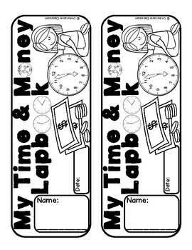 Time & Money Lapbook   Telling Time   Counting Money