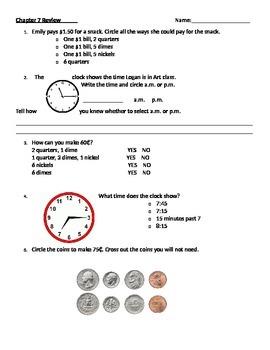 Time & Money Quiz