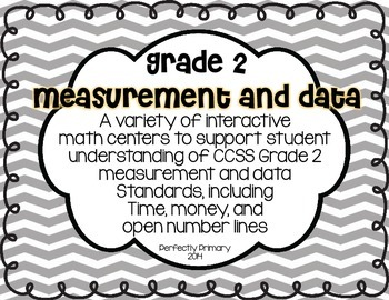 Time, Money, and Number Line Math Centers {Grade 2 CCSS aligned}