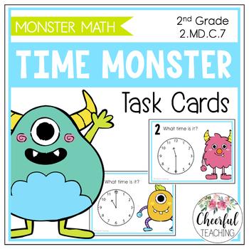 Time Monster Task Cards