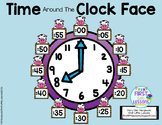 Time On The Clock Face: Cow Labels