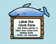 Time On The Clock Face: Shark Labels
